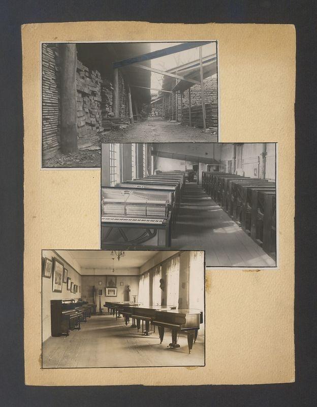 Instrumenty w Fabryce Fortepianów i Pianin Arnold Fibiger w Kaliszu