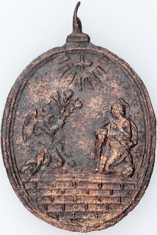 Medalik z brązu