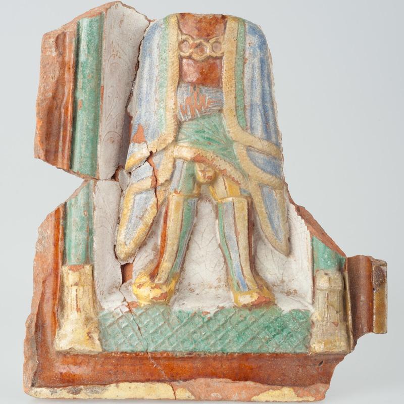 Kafel z postacią króla