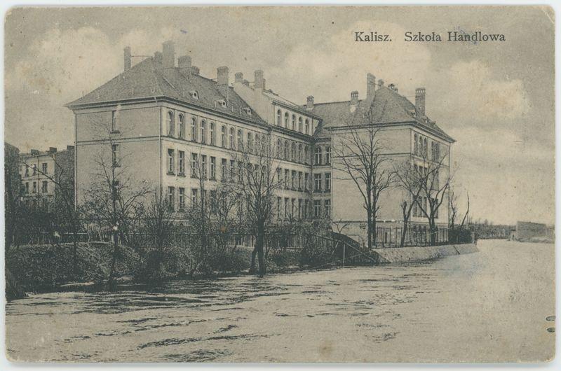Kalisz. Szkoła Handlowa