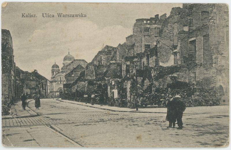 Kalisz. Ulica Warszawska