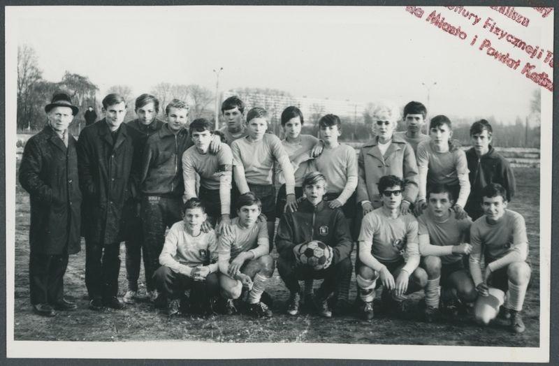 Zdjęcie z albumu dotyczącego kaliskiej hali sportowej