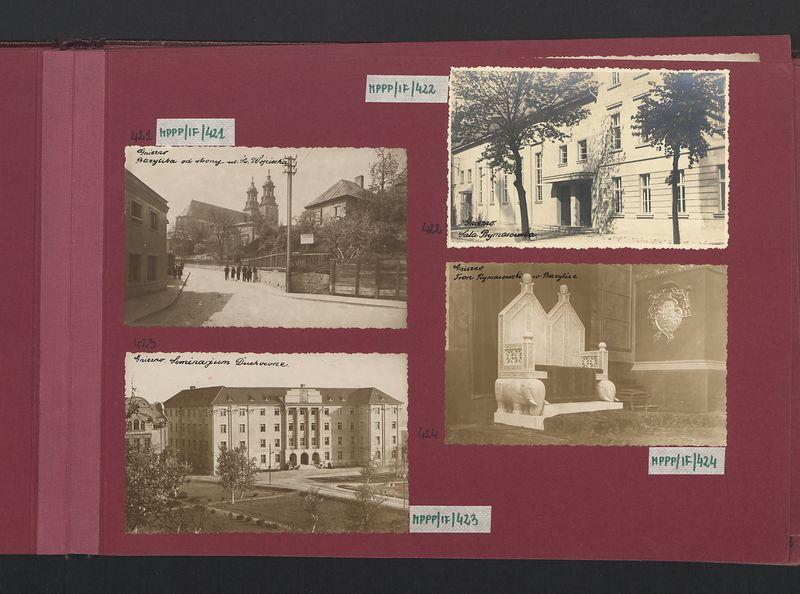 Widok na bazylikę od strony ul. św. Wojciecha.
