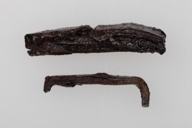 Fragmenty okuć żelaznych