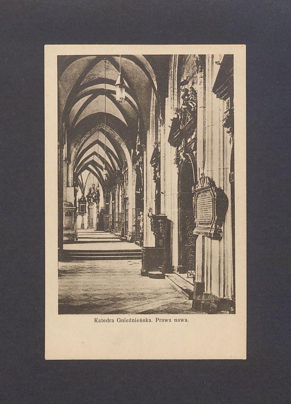 Katedra gnieźnieńska, Prawa nawa (południowa).