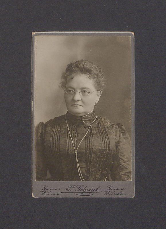 Autoportret Pelagii Eitner-Gdeczyk.
