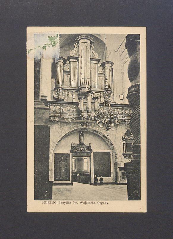Organy barokowe w katedrze.
