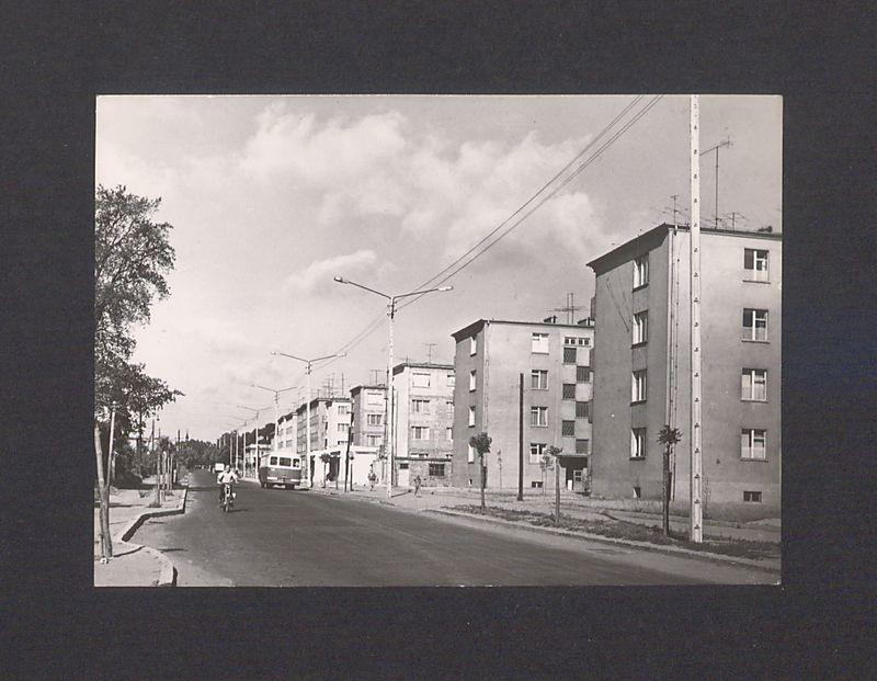 Osiedle Tysiąclecia przy ul. Roosevelta w Gnieźnie.