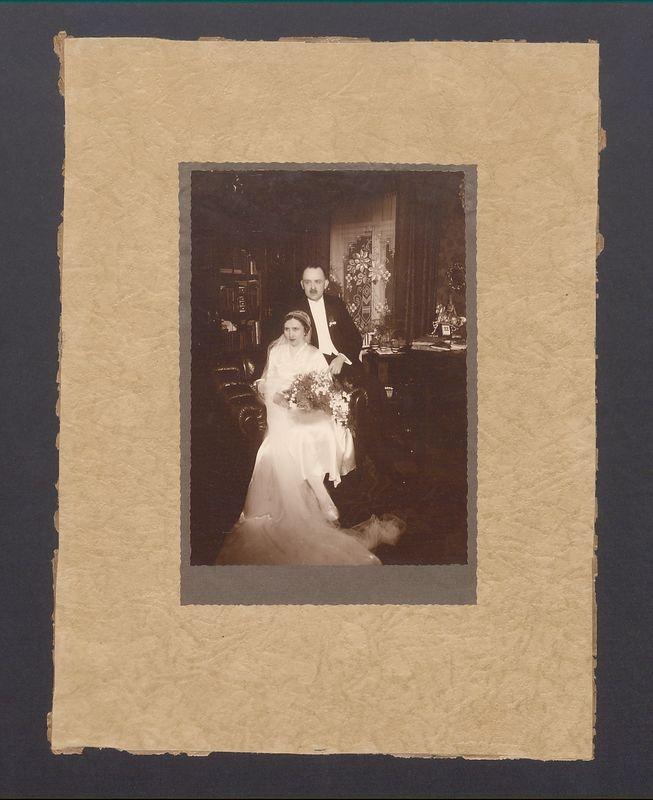 Józef Przybyszewski z żoną Marią.