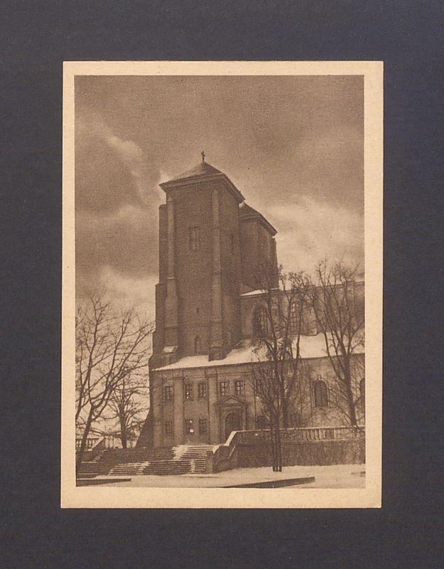 Wieże katedry gnieźnieńskiej.