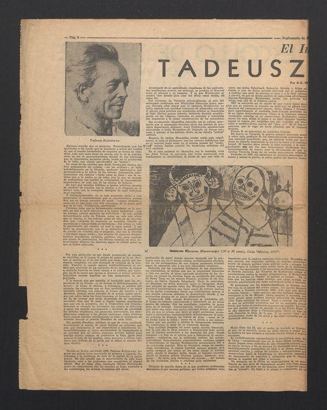 El Impacto Mexicano en Tadeusz Kulisiewicz