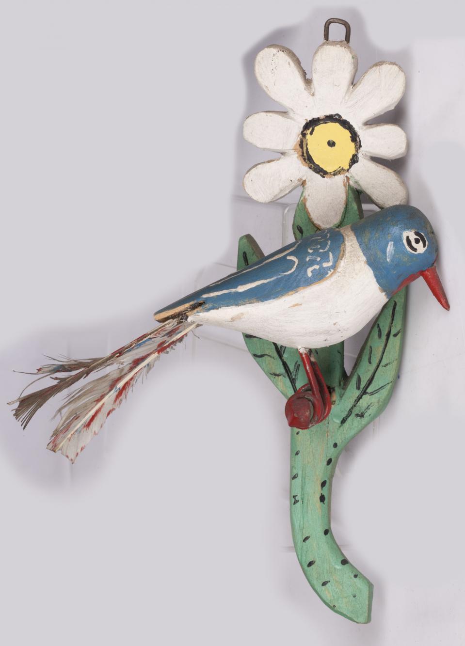 Ptaszek na kwiatku