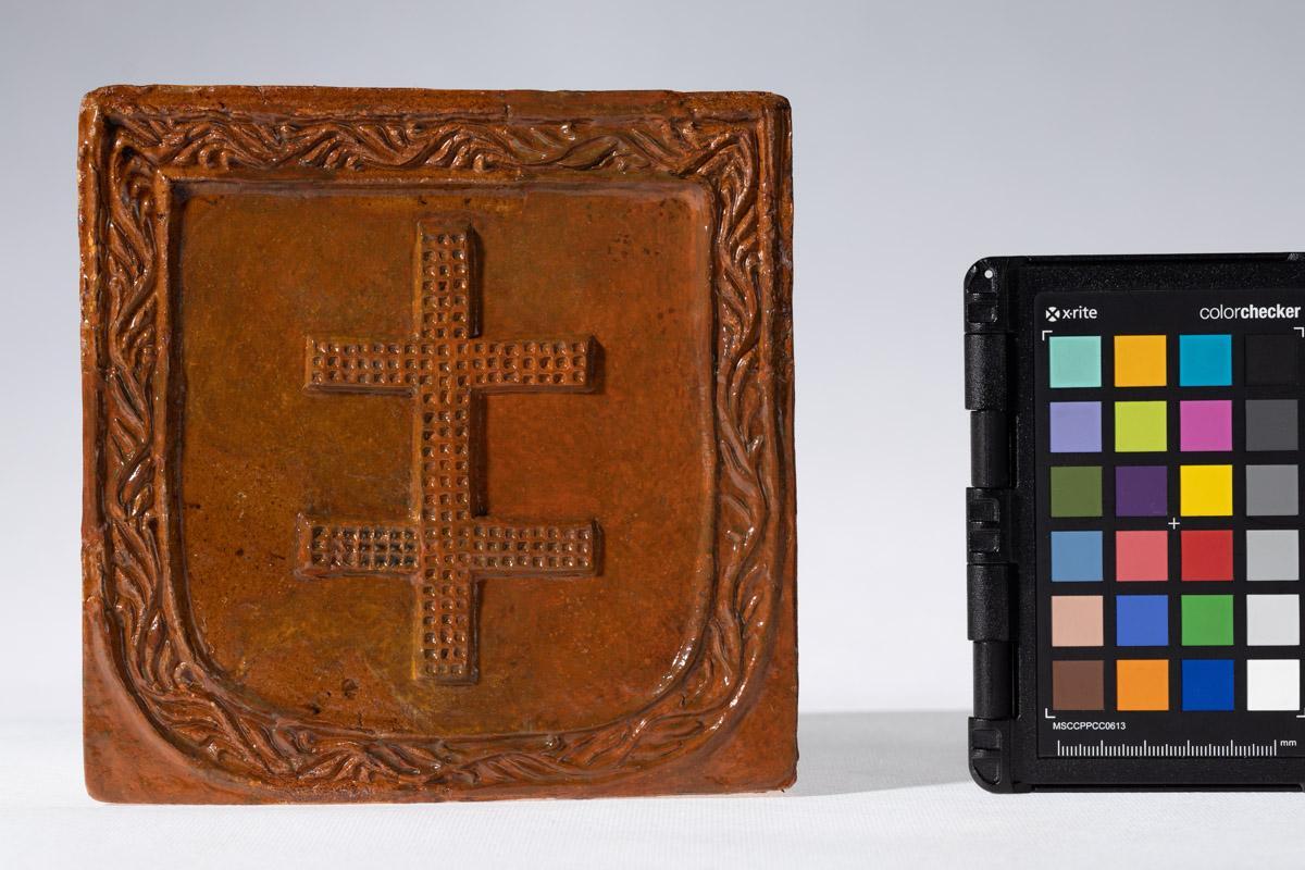 Kafel z herbem Bojcza