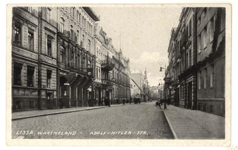 Ulica Słowiańska w Lesznie