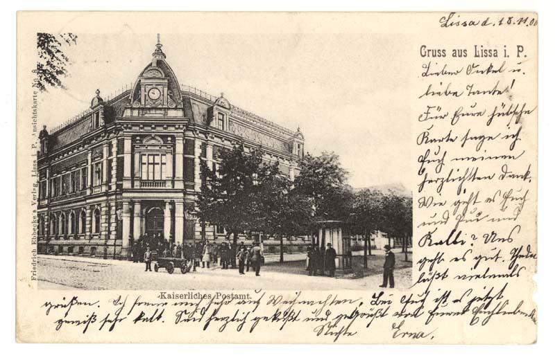 Ulica Słowiańska w Lesznie - poczta