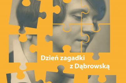 Dzień zagadki z Dąbrowską