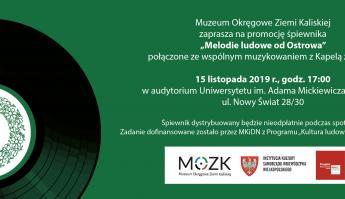 """Promocja książki """"Melodie ludowe od Ostrowa"""""""